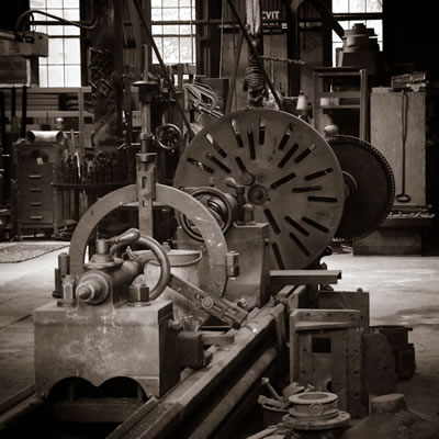 knight foundry lathe