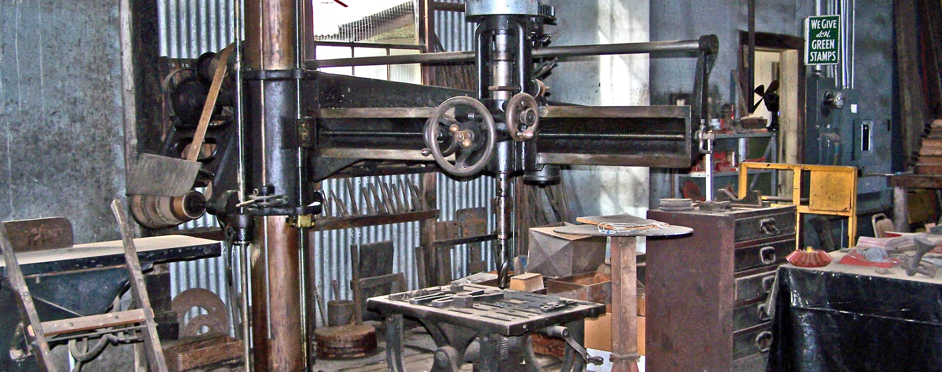 sutter creek knight foundry machine shop historic site from gold rush era