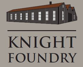 Knight Foundry Historical Site in Sutter Creek, California Logo