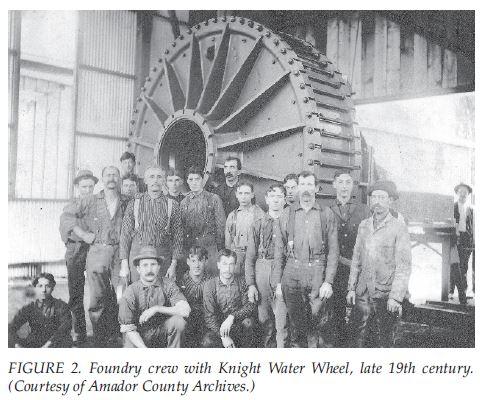 sutter creek knight foundry & machine shop