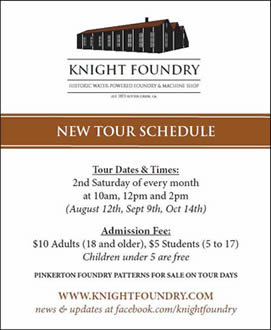 knight foundry public tours