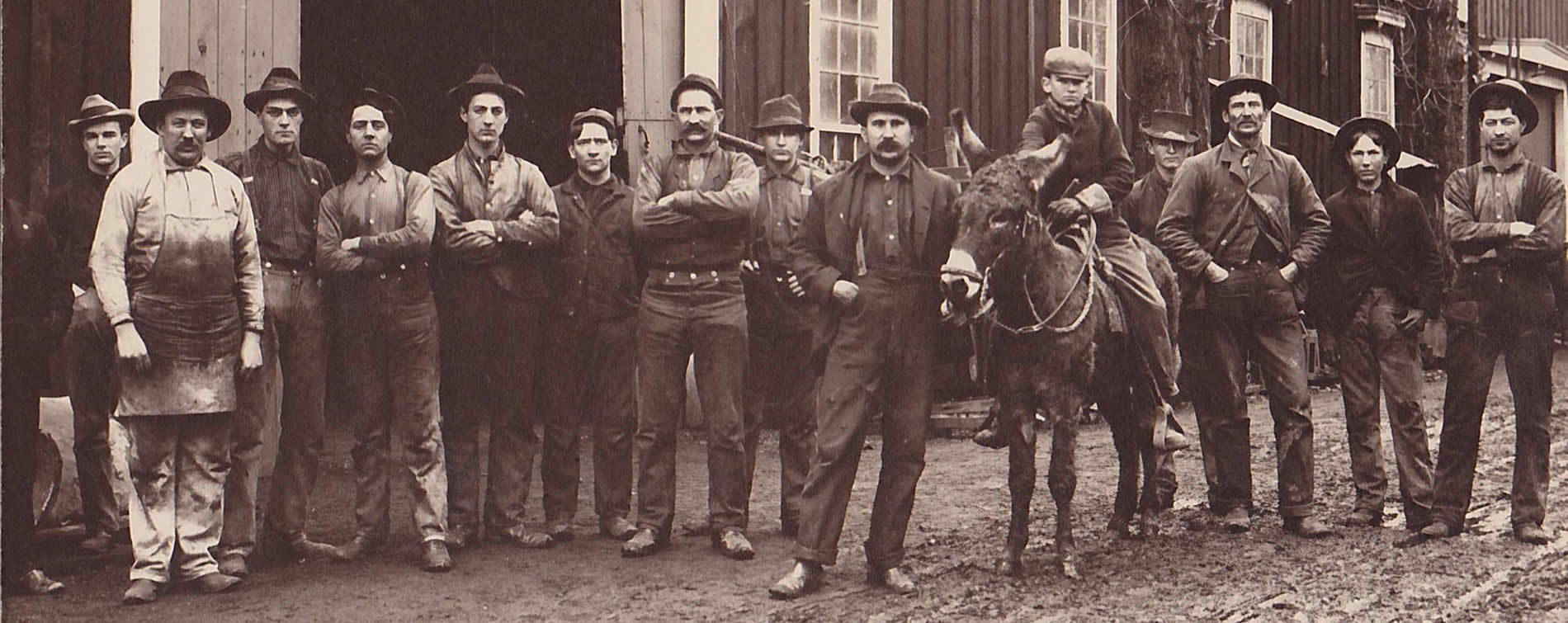 1890's knight foundry crew sutter creek ca