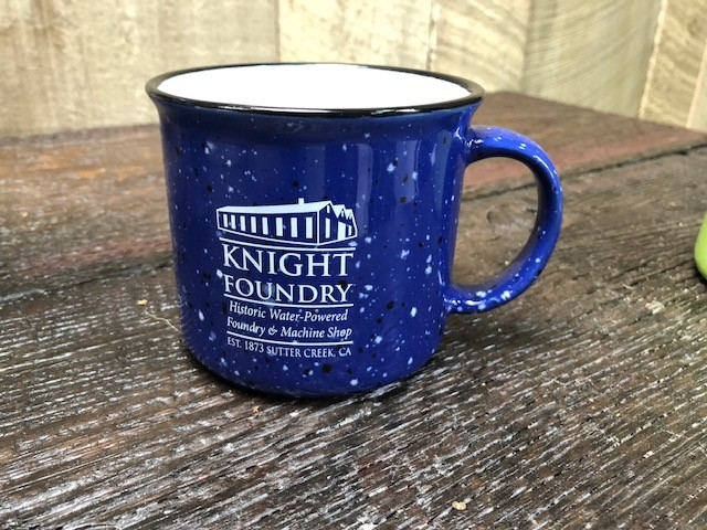Blue Mug at Knight Foundry