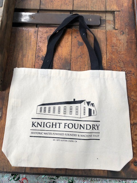 tote bag at Knight Foundry