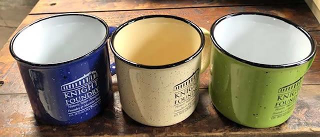Green Mug at Knight Foundry