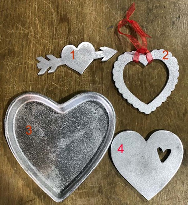 Hearts – Cast at Knight Foundry - $15 each