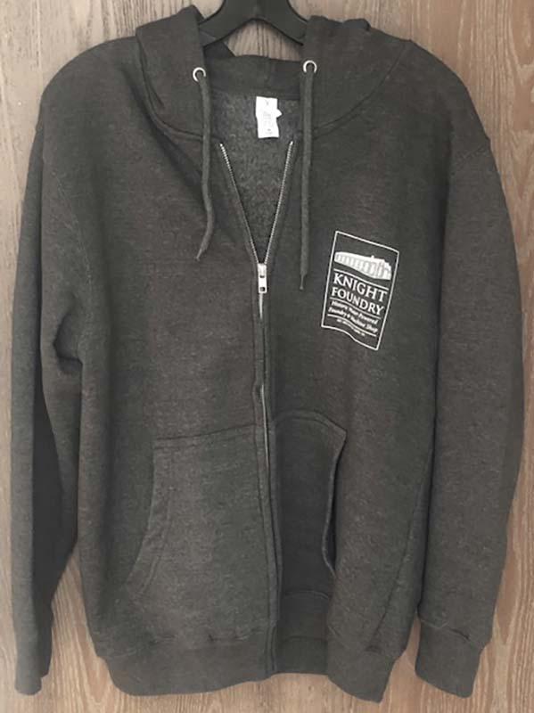 Zipper Hoodie Sweatshirt