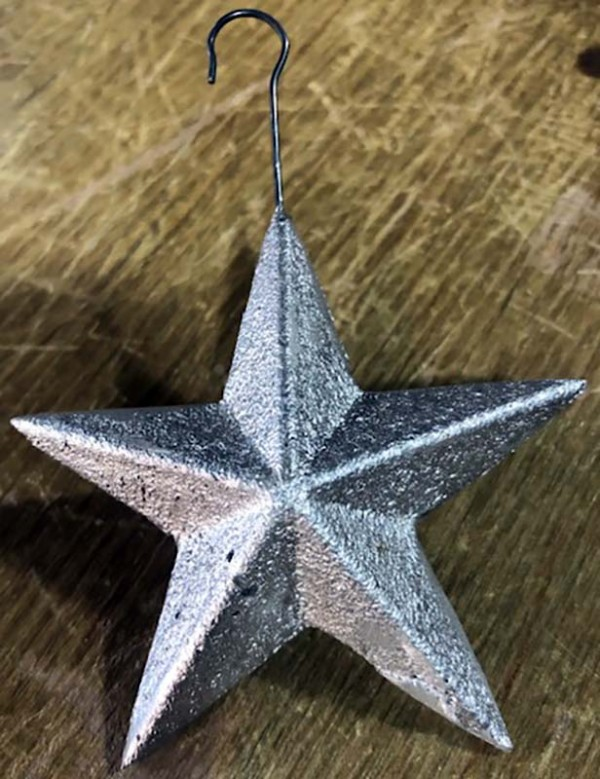 Star Ornament – Cast at Knight Foundry