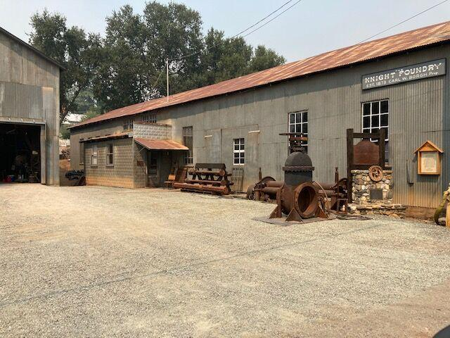 sutter creek knight foundry - new metal siding