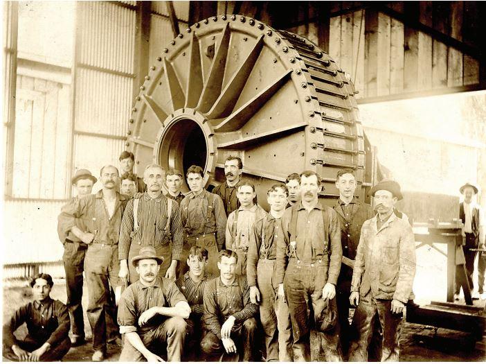 knight foundry historic photo